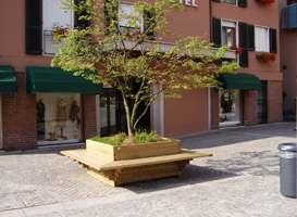 Fioriere legno roma Parco