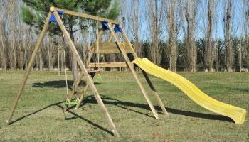 Giochi da giardino in legno a roma modello altalena willy