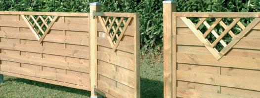 Recinzioni in legno a roma modello sea for Recinzione legno