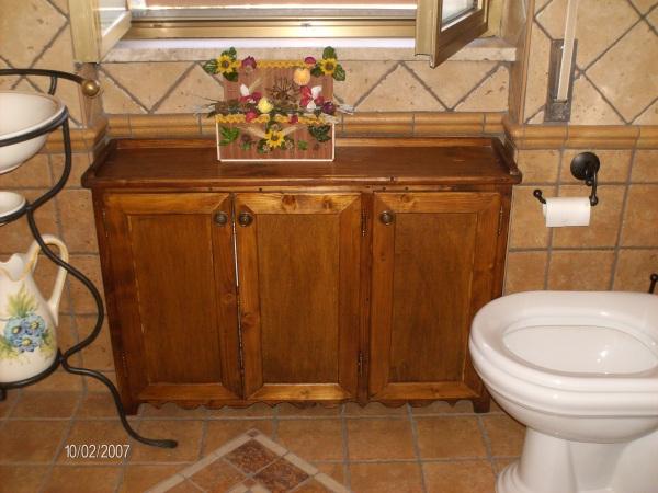 Mobili da bagno in legno su misura roma - Mobili bagno roma ...