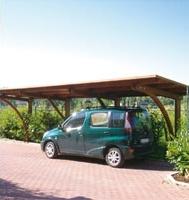 Carport, copertura auto roma K2 dettaglio