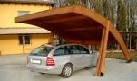 carport, coperture per auto in legno a roma modello Kerto - anteprima