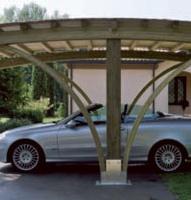 Carport, copertura auto roma Vesuvio dettaglio