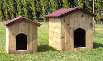 Cucce per cani in legno a roma for Cucce da interno per cani taglia grande