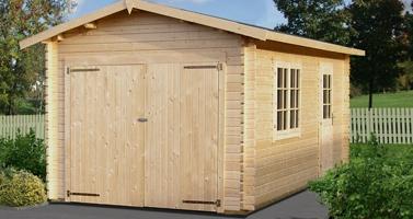 garage legno roma