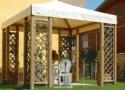 gazebo da giardino in legno a roma modello Quick - anteprima