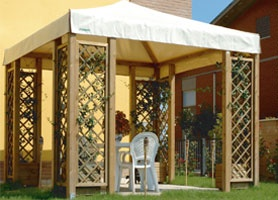Gazebo legno roma Quick
