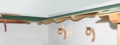 Pensilina in legno a roma modello Monobraccio - anteprima