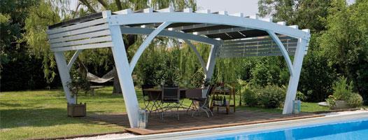 Pergola, legno roma Bridge