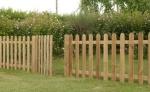 Recinzione in legno a roma modello Land - anteprima